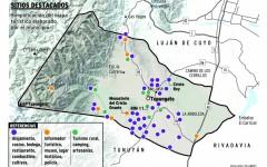 Tupungato estrena el mapa de sus atractivos turísticos